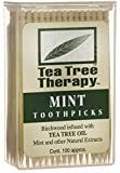Tea Tree Therapy - Tea Tree & Menthol Toothpicks