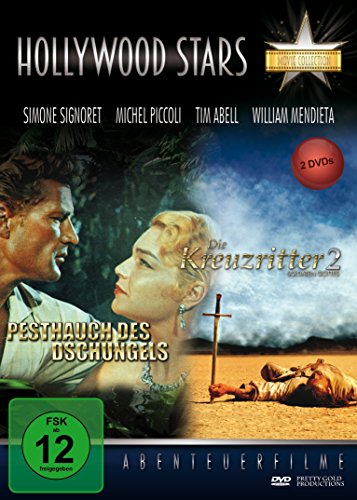 Hollywood Stars - Abenteuerfilm Collection (Die Kreuzritter 2+Pesthauch des Dschungels) [2 DVDs]