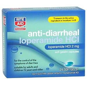 Amazon.com: Rite Aid Anti-Diarrheal Liquid Softgels 24 ea
