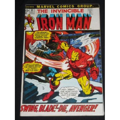 INVINCIBLE IRON MAN VOLUME ONE #51 BRONZE AGE MARVEL COMIC BOOK
