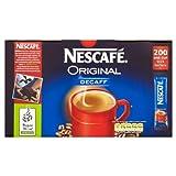 Nescafè Original Decaffeinated Coffee Sticks (200 Pack)