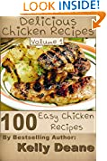 Delicious Chicken Recipes - Volume 1