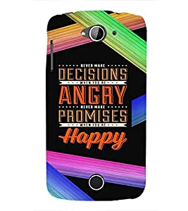 PrintVisa ACERZ530-Quotes & Messages Inspiration Colorful Plastic Back Cover (Multicolor)