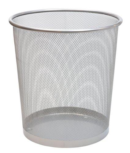 pro-range-silver-wire-mesh-15l-waste-paper-basket-bin