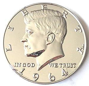 "Jumbo Play Money 3"" Chrome Metal Coin"