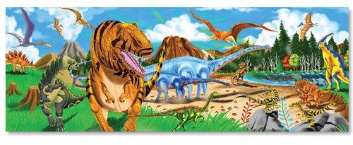 Cheap Fun Melissa & Doug Dinosaurs Extra Large Floor Puzzle – 48 Piece (B00009B1UI)