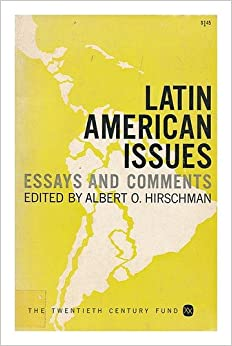 latin american essays In this text, josé enrique rodó outlines his vision for a future latin american  civilization based on the pursuit of idealism he stages this description as a  lecture.