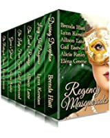 Regency Masquerades: A Limited Edition Boxed Set of Six Traditional Regency Romance Novels of Secrets and Disguises (English Edition)
