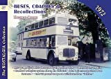 img - for Buses, Coaches and Recollections 1972 by Henry Conn (2016-06-24) book / textbook / text book