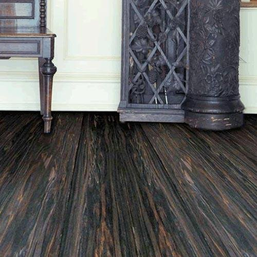 Recycled Strand Woven Poplar Bamboo Hardwood Flooring Tobacco Canyon by EcoFusion Flooring