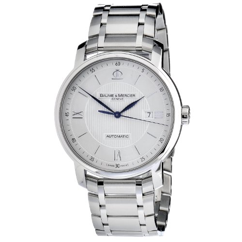 baume-et-mercier-classima-m0a10085-gents-steel-bracelet-automatic-date-watch