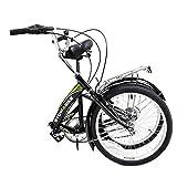 Stowabike 20 Folding City V2 Compact Foldable Bike - 6 Speed Shimano Gears