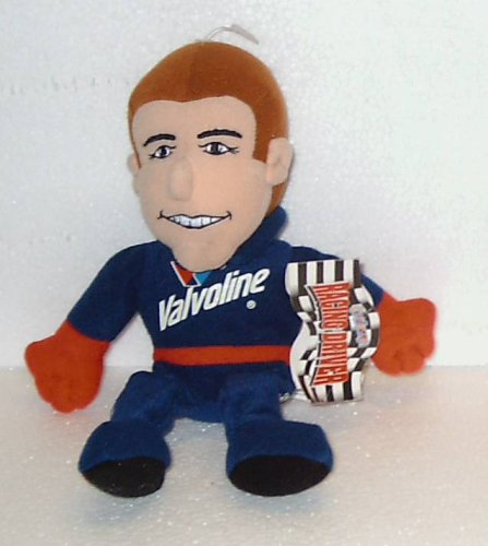 "9"" Plush Racing Driver Valvoline #6 Mark Martin; Plush Stuffed Bean Bag Toy Doll"