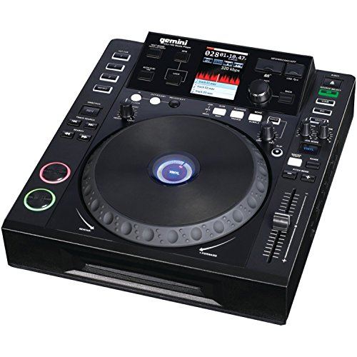 Gemini Dj Cdj-700 Single Disc Cd Player