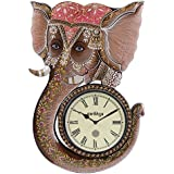 Swagger Lord Ganesha Wall Clock / Vintage Wall Clock / Unique Wall Clock / Wooden Wall Clock / Decorative Wall...