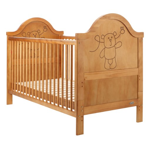 Obaby B is for Bear Cot Bed (Country Pine)