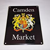Camden Market London Street sign Metal Wall sign
