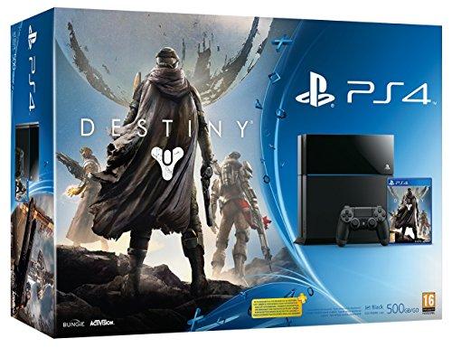Console PS4 500 Go Noire + Destiny