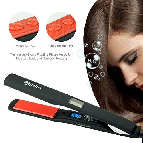 Apalus Glätteisen, Professional Ionen Haarglätter Zum Glätten Von Locken, Mit Glätteisen Zubehör Für Professional Haar Styling -