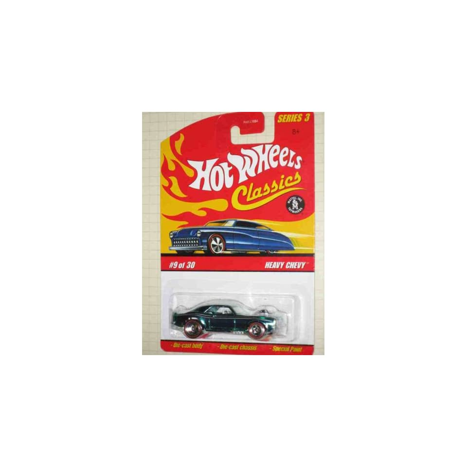 Classics Series 3  #9 Heavy Chevy Collectible Collector Car Mattel Hot Wheels