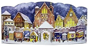 1947 Cathedral German Advent Calendar by Sellmer Verlag