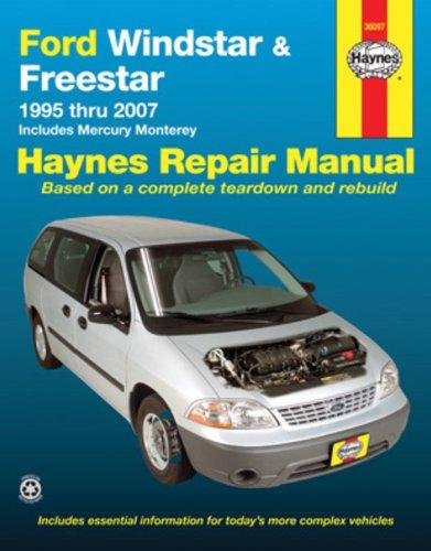ford-windstar-freestar-mercury-monterey-automotive-repair-manual-1995-thru-2007