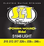 SIT -エスアイティー- エレクトリックギター弦 POWER WOUND -Nickel Round Wound LIGHT 010-046x 1セット S1046