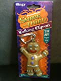 Shrek 3 Gingy Gingerbread Clip-On Talking Keychain