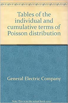 Tables of the individual and cumulative terms of poisson - Cumulative poisson distribution table ...