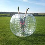 HolleywebTM Bubble Soccer Ball Suit Dia 5' (1.5m) Inflatable Body Zorbing Bumper Ball
