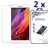Xiaomi Redmi Note 4X Screen Protector [2 Pack] - Nacodex Tempered glass Screen Protector with [Scratch-Resistant] [No-Bubble] with Lifetime Replacement Warranty