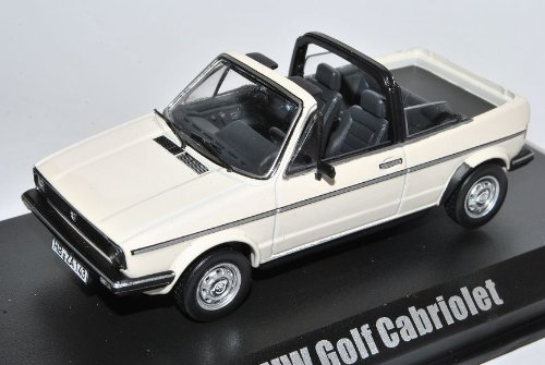 VW Volkswagen Golf I Cabrio Weiss 1979-1993 1/43 Norev Modell Auto