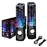 ForTech Popular Mini Water Dancing Speakers Water Spring Speaker(Black)
