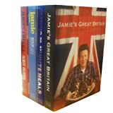 Jamie Oliver Jamie Oliver Collection 4 Books Set (Jamie's Great Britain, Jamie's 30-Minute Meals, Jamie Does..., Jamie's America)