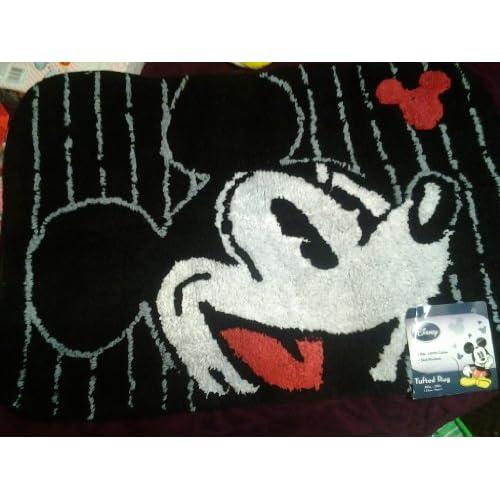 disney mickey mouse bathroom rug bath mat tufted