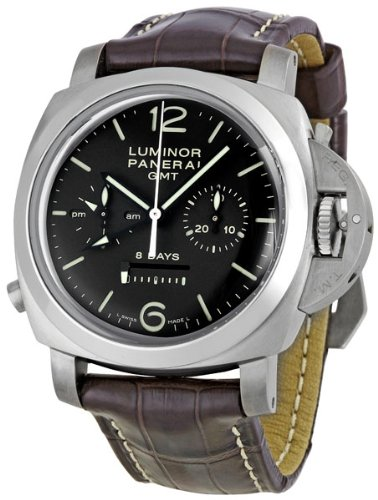 Panerai Men's M00311 Luminor 1950 8 Days Chrono Monopulsante GMT Titani Chronograph Watch