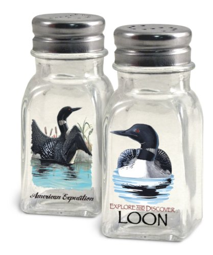 American Expedition Loon Salt and Pepper Shakers