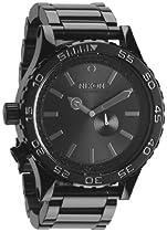 Nixon 51-30 Tide All Black Cystal Mens Watch A0571150