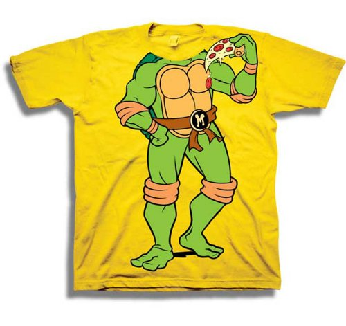 Teenage Mutant Ninja Turtles TMNT Michelangelo Costume Toddler T-Shirt Tee