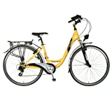 Tour De France Advantage Bicycle (Yellow/Black, 700C X 43 cm)