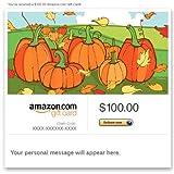 Amazon Gift Card - E-mail - Seasonal (Fall Pumpkins)