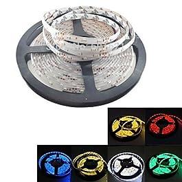 Ch&Ch6 colori facoltativi condotto decorazione striscia flessibile impermeabile 5m 300x3528 dc SMD 12v giallo / bianco caldo / bule / verde / rosso / , Blue