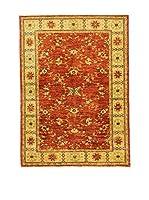 L'Eden del Tappeto Alfombra Royal Farahan Naranja / Mostaza 171  x  125 cm
