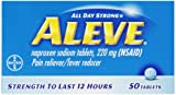 Aleve Tablets, 50 Count