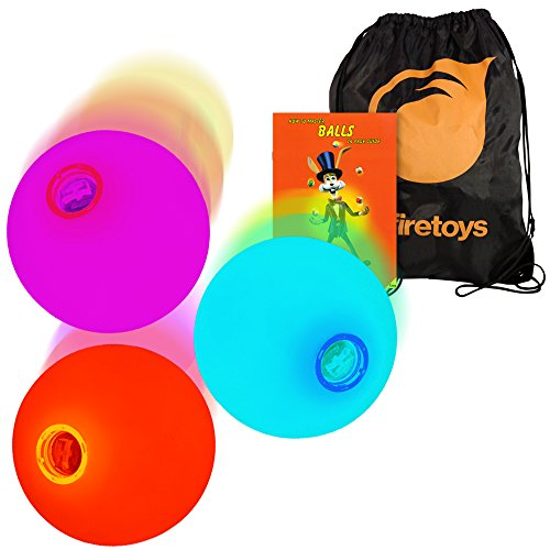 3x-LED-Slow-Fade-Rainbow-Glow-Juggling-Balls-How-to-Booklet-Batteries-Bag