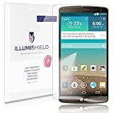 iLLumiShield - LG G3 Screen Protector Japanese Ultra Clear HD Film with Anti-Bubble and Anti-Fingerprint - High Quality (Invisible) LCD Shield - Lifetime Replacement Warranty - [3-Pack] OEM / Retail Packaging (For: AT&T, Sprint, T-Mobile, Verizon)