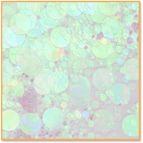 Beistle CN121 Iridescent Polkadots Confetti, 1/2-Ounce