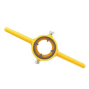 6Pcs NPT Die Set PVC Thread Maker Tools Kit 1/2 Inch 3/4 Inch 1 Inch Alloy Tarraja Tubo
