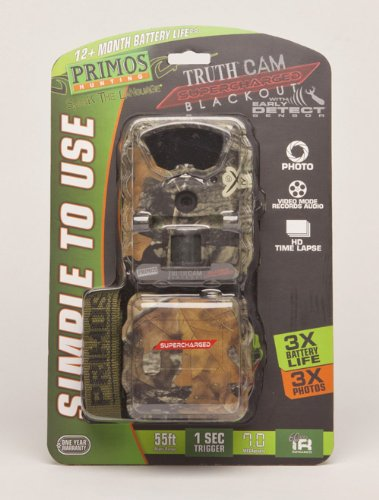Primos Truth Cam Ultra Supercharged Blackout Trail Camera