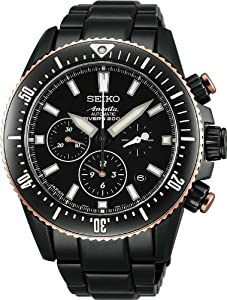 Seiko Brightz Ananta Mechanical Chronograph 130 Anniversary Limited Lacquered Dial Sask015 MEN ( Japan Import)